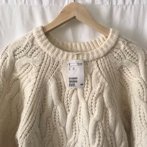 Sweaters - Cable cord sweater
